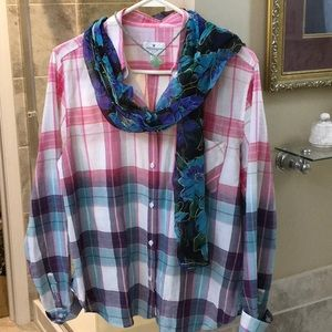 American Eagle Outfitters Blouse Size Large EXC